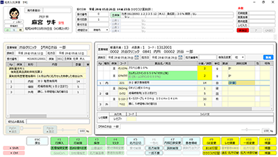 サキレセ!の特徴~使いやすい処方入力画面