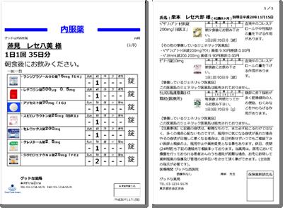 サキレセ!の後発医薬品の使用促進~薬情型の薬袋・手帳を標準装備